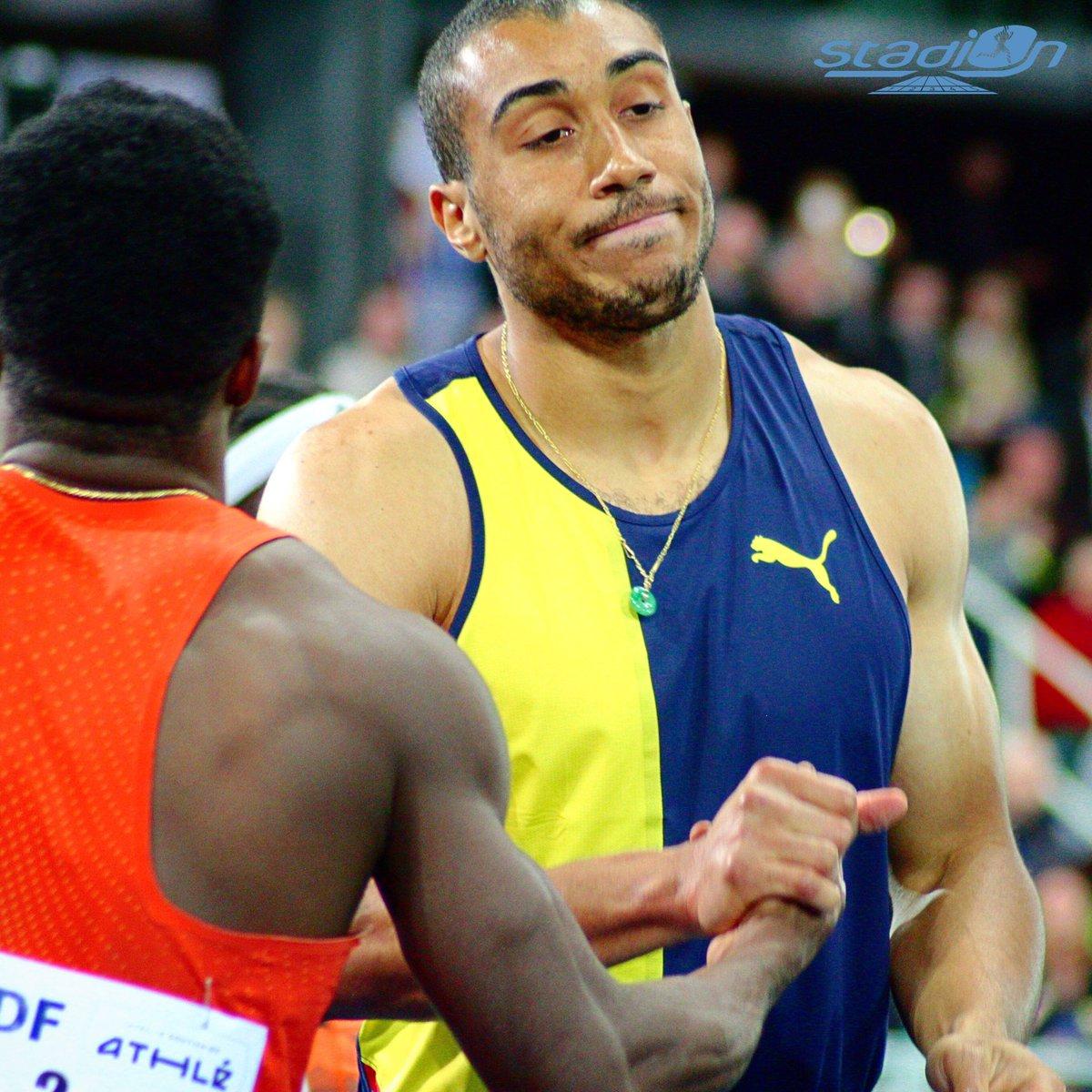 📸 Pour sa seule sortie de l'hiver, @vicautjimmy termine troisième du 60 m à Liévin ! #athlétisme