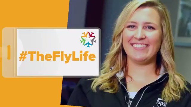 """""""There are so many different divisions and levels. Whether you're on a management track or not there are so many opportunities for people to develop themselves and have a lifelong career."""" #TheFlyLife @UPSAirlines"""