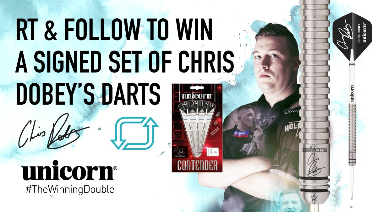 test Twitter Media - #WIN! He's had a taste of Premier League action & thrown a fantastic 9⃣-darter all in the last few days!! 🎯  Simply RT this post & follow us to win a signed set of @Dobey10 #darts #Competition #RTtoWin #Hollywood https://t.co/zl050rwf91