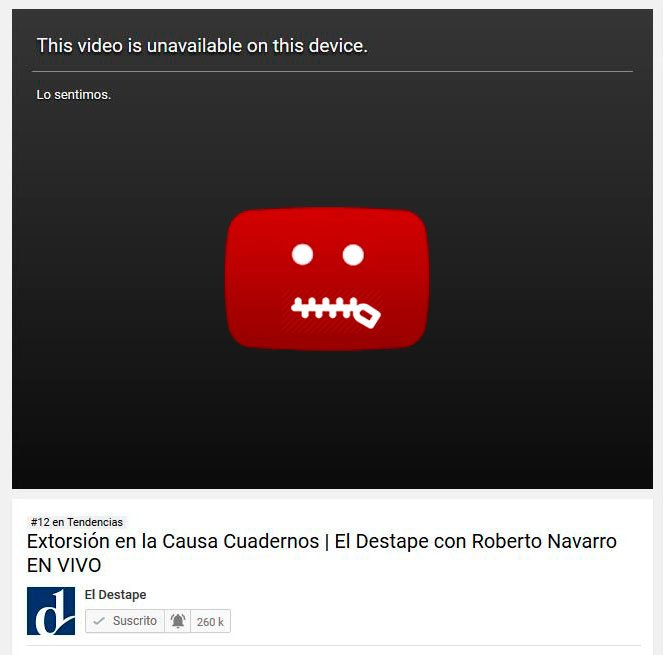 PANTERA GRASA's photo on #YouTubeCensura