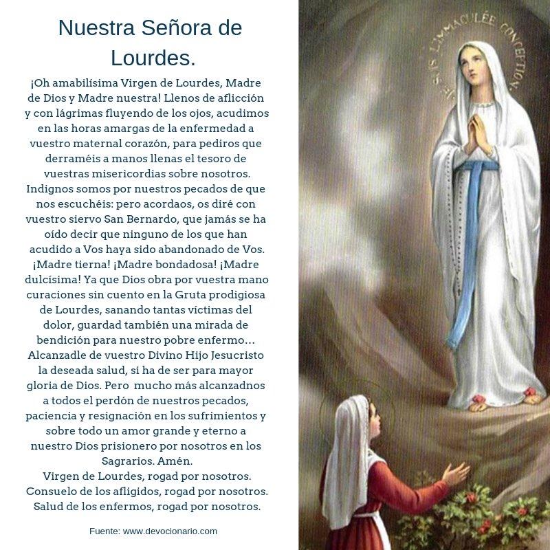Pan de la palabra's photo on Nuestra Señora de Lourdes