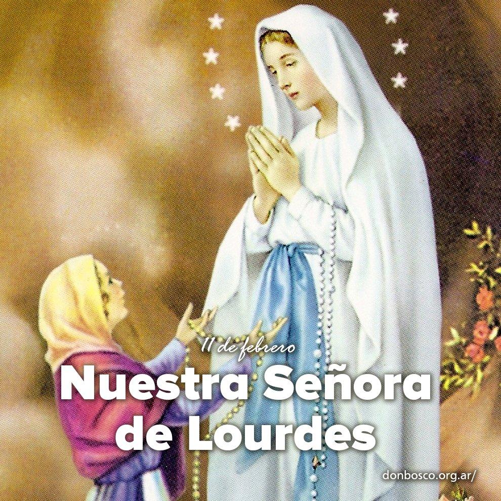 Don Bosco Argentina's photo on Nuestra Señora de Lourdes