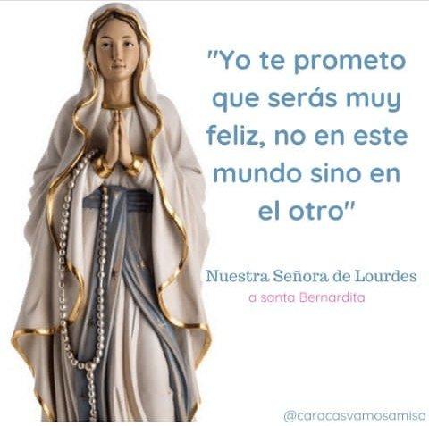 Caracas Vamos a Misaﻥ's photo on Nuestra Señora de Lourdes