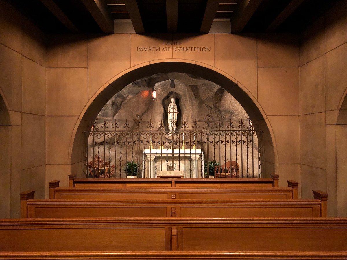 Fr. Aquinas Guilbeau, OP's photo on #OurLadyofLourdes