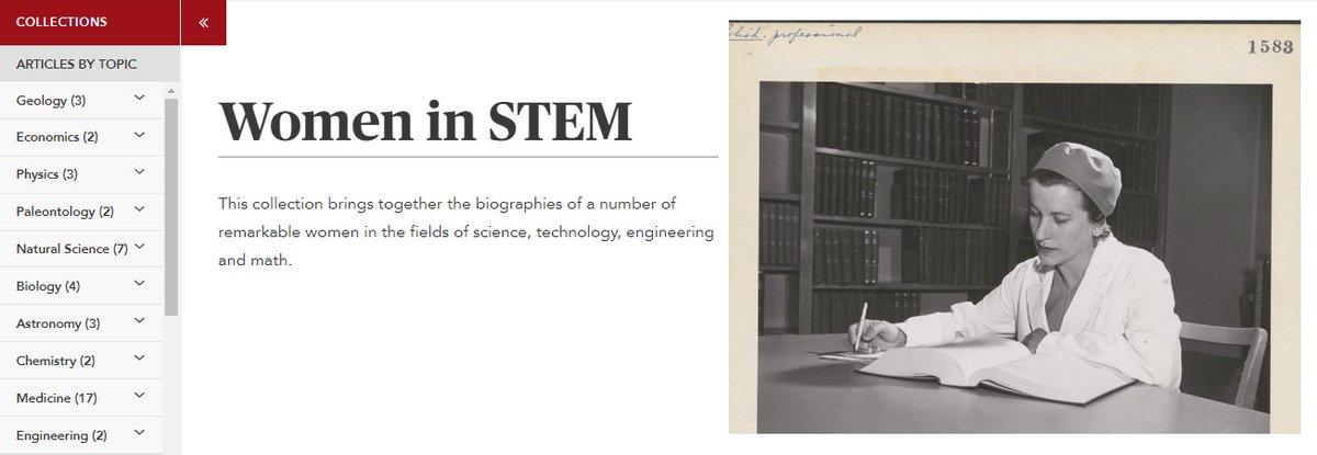 CanadianEncyclopedia's photo on #GirlsinScience