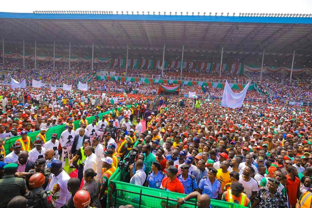 Atiku Abubakar in Port Harcourt