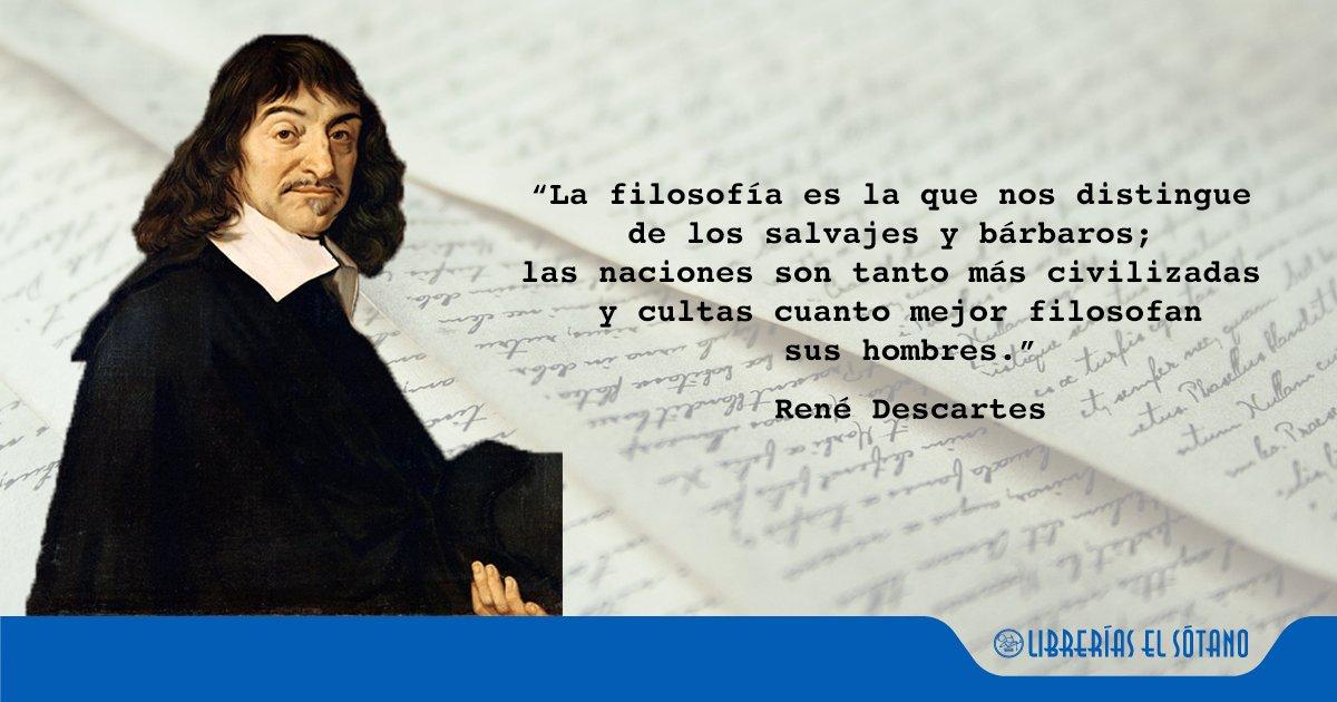 Librerías El Sótano's photo on René Descartes