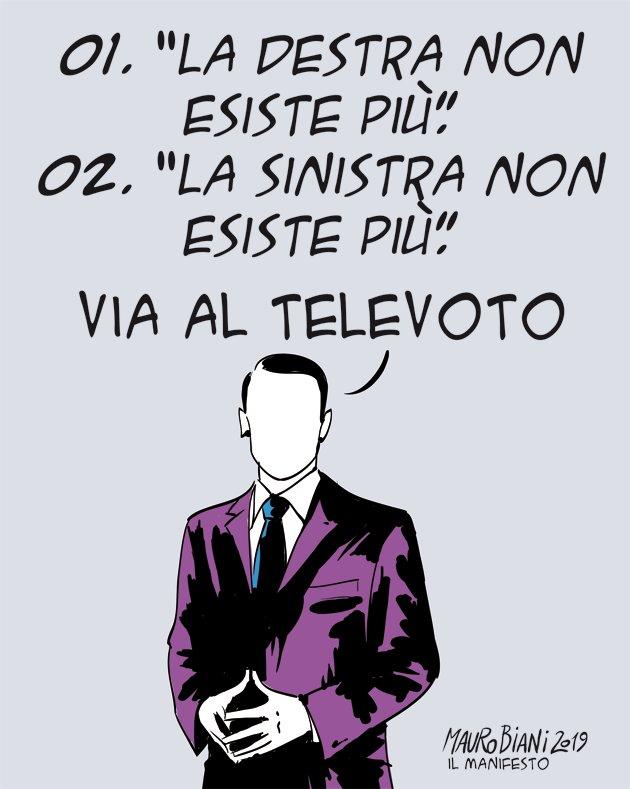 Mauro Biani's photo on #televoto