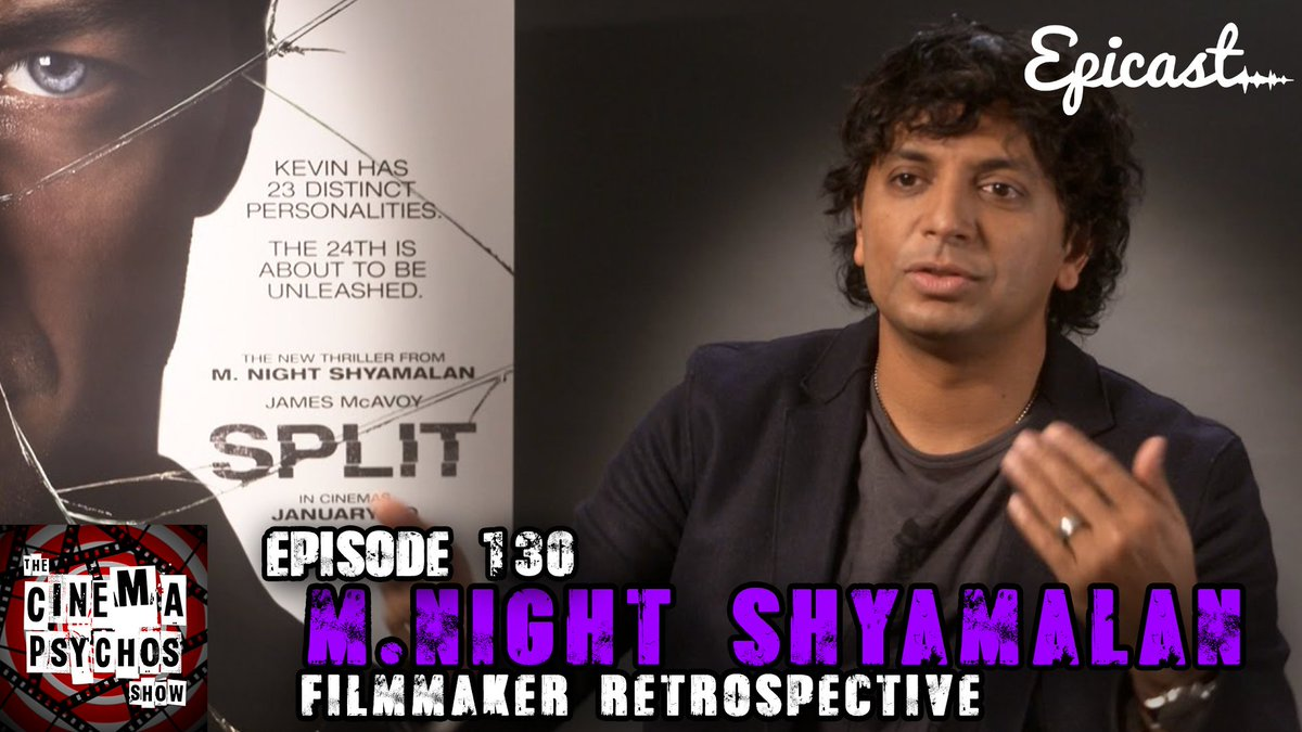 WHAT A TWIST!  - M.Night Shyamalan Filmmaker Retrospective   #podcast #mnightshyamalan #GlassMovie #movie #review #filmmaker  #download - https:// bit.ly/2SnY9ct  &nbsp;    #ApplePodcasts -  https:// apple.co/2OhmDwY  &nbsp;    #Spotify -  https:// spoti.fi/2Gza1Bg  &nbsp;  <br>http://pic.twitter.com/hKwArVSqVx
