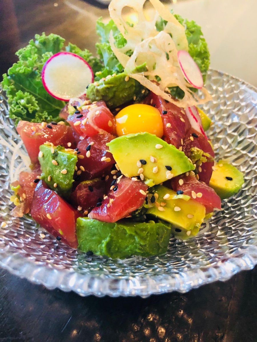 A Super Colourful And Healthy Dish! Ahi Tuna Tartar With Avocado 🥑🍴 U2063  VISIT