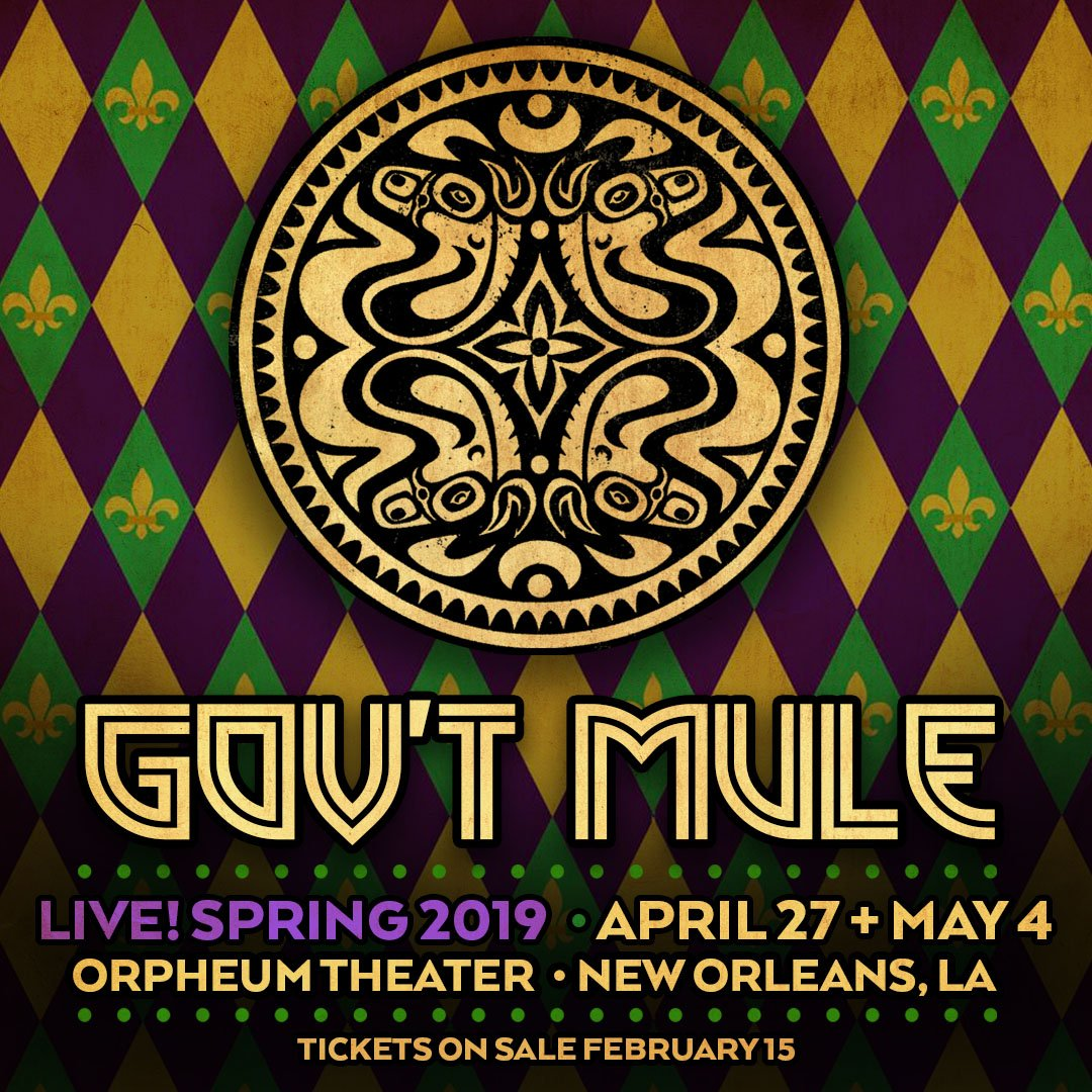 Gov't Mule's photo on new show