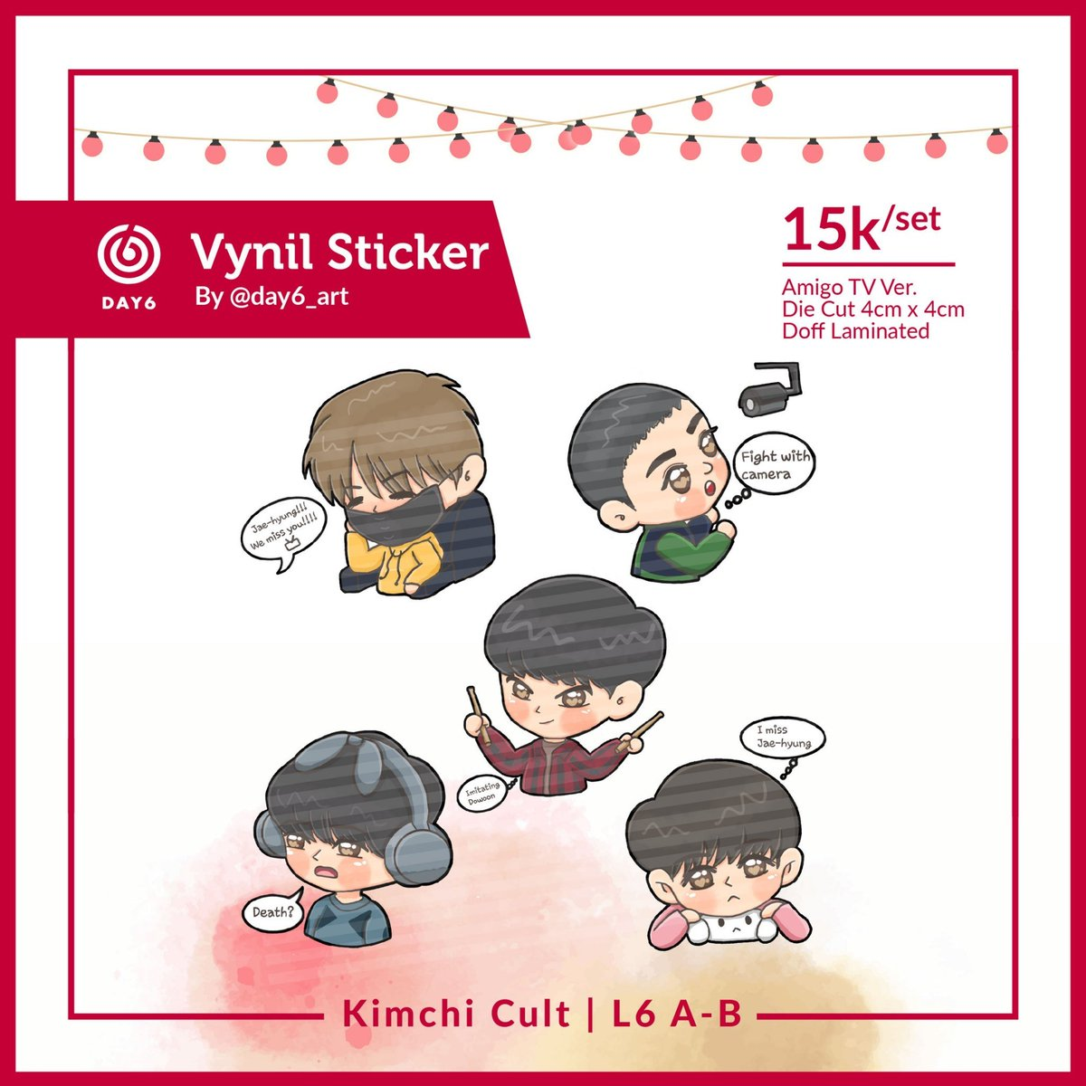 Hello everyone~~~~  I'll be on #Comifuro12 #CFXII with @.kimchiiicult  Find me on L06a-b... Will give you freebies for every purchase.. 🤗  DM me for booking.. 😊  #DAY6 #SEVENTEEN #iKon #WINNER #BLACKPINK