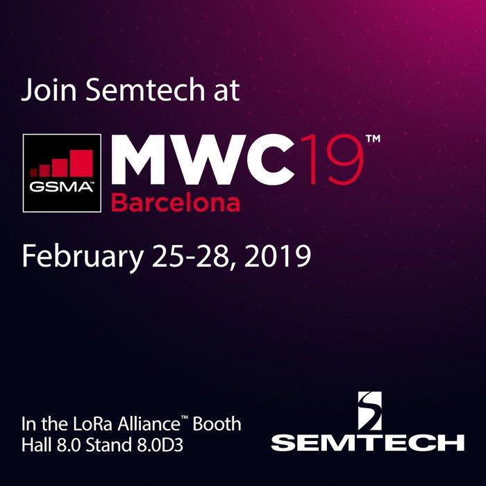 Semtech Corporation's photo on #MWC19