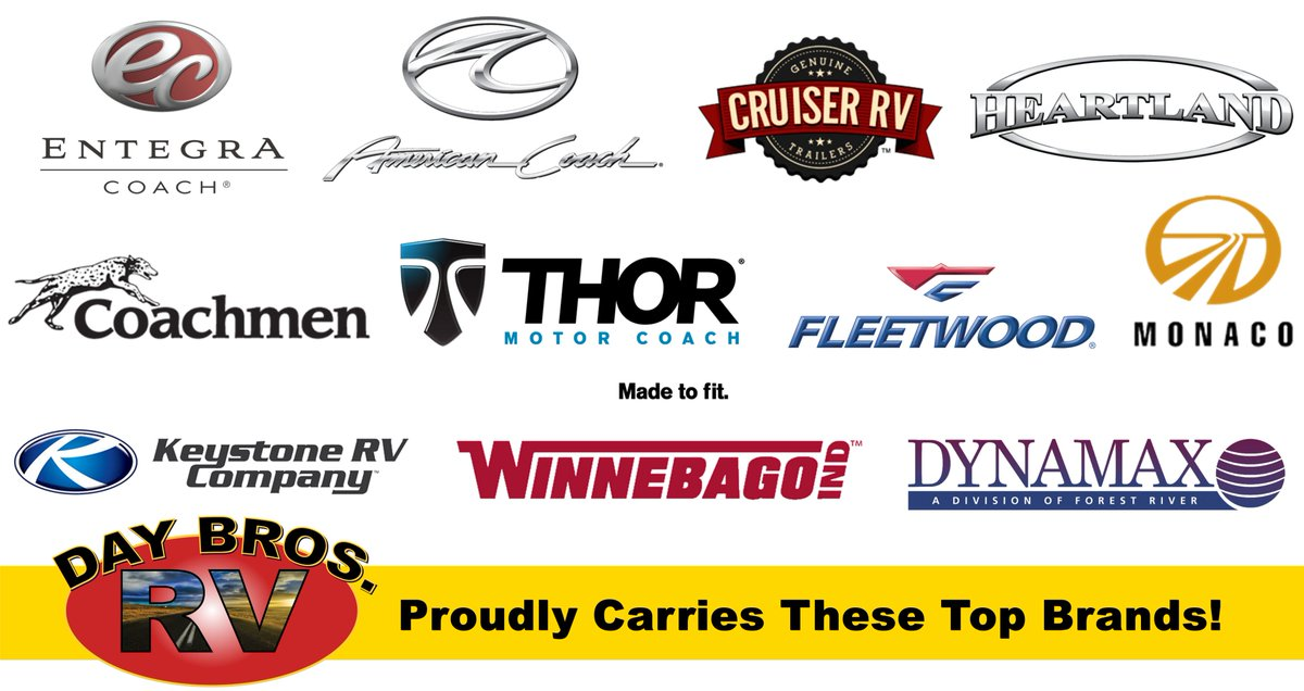 Day Bros RV is an official dealer of some of the nation s top RV brands! c372aa69e05