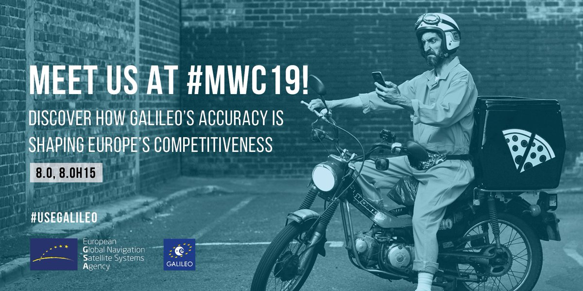 European GNSS Agency's photo on #MWC19