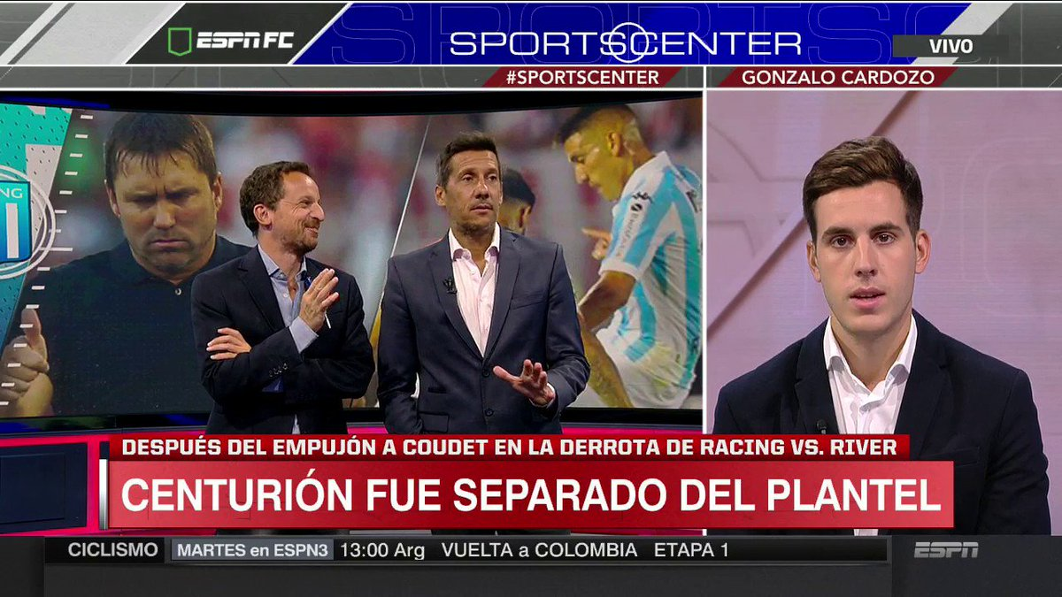 SportsCenter's photo on Ricardo Centurión
