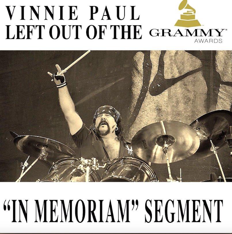 Loudwire's photo on Vinnie Paul