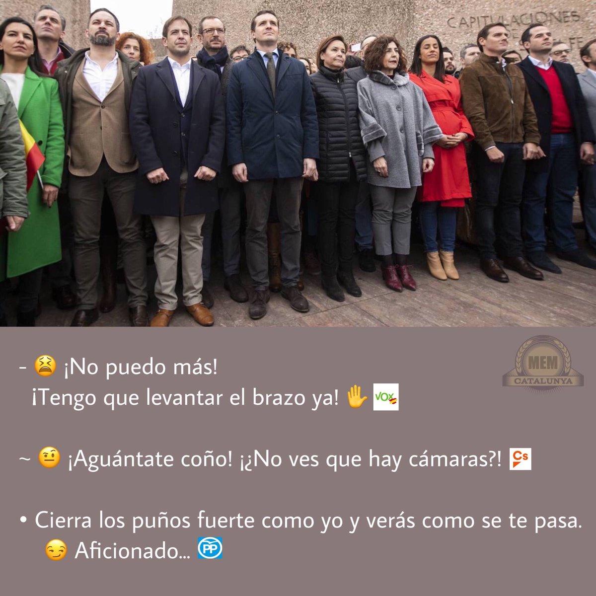 Malvat Escamot Memètic de Catalunya's photo on #ProtestaColónARV