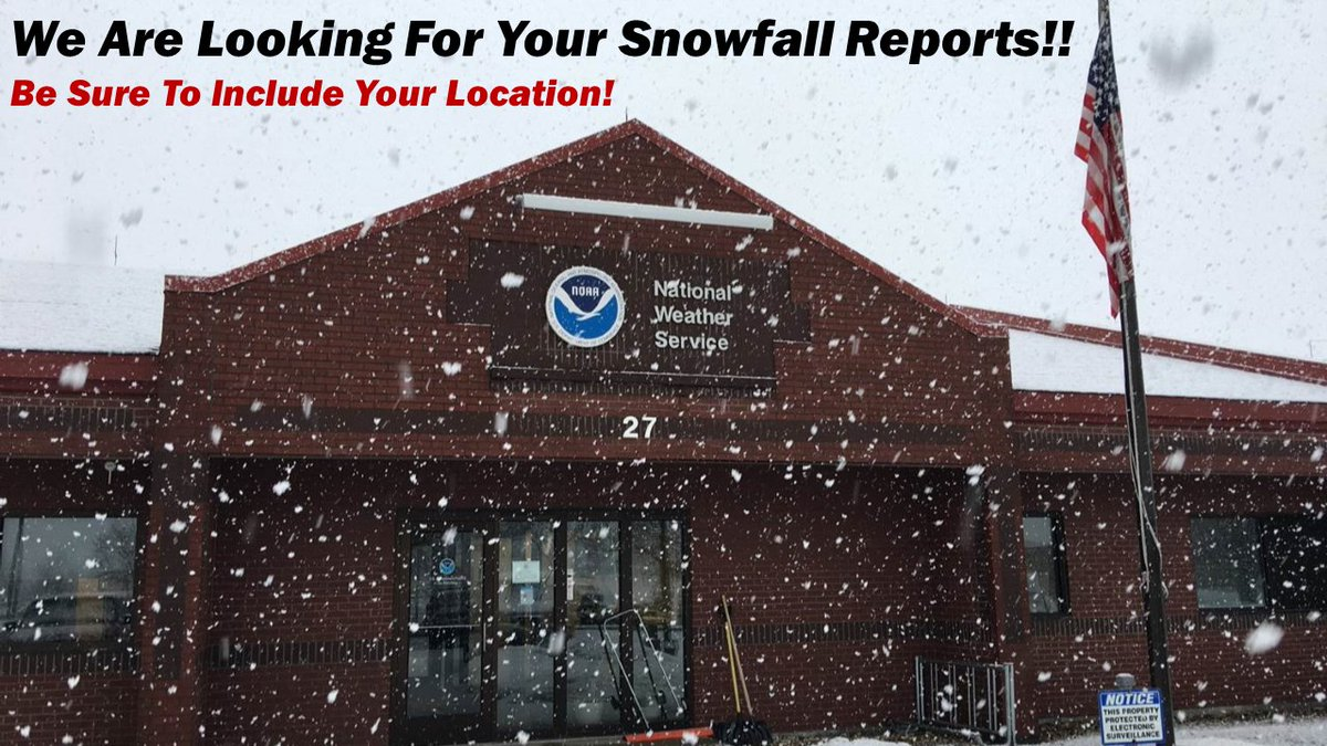 We are looking for your #snowfall reports. They are a big help to us! Thanks. #ndwx #ndag #NorthDakota