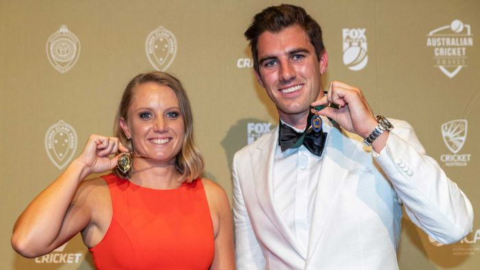ABC Grandstand's photo on allan border medal