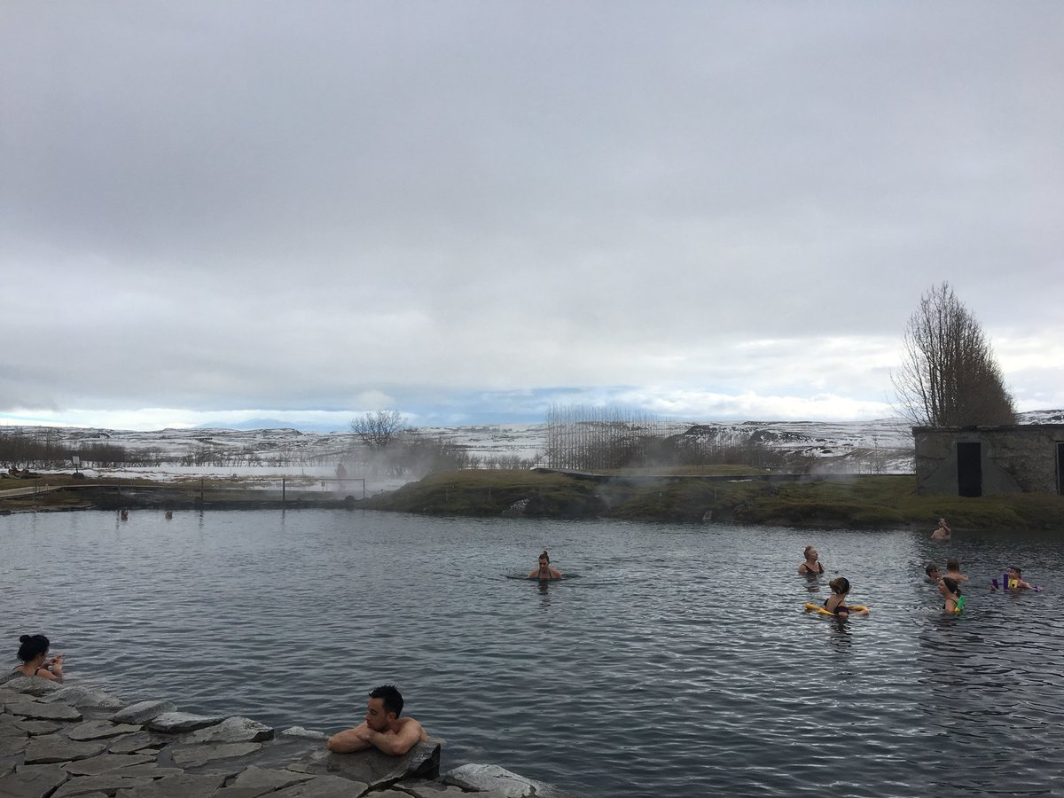 Iceland Day 2: The Secret Lagoon, Gullfoss Waterfall, Icelandic horses and some tomatoes #iceland #waterfalls #fridheimar #travel