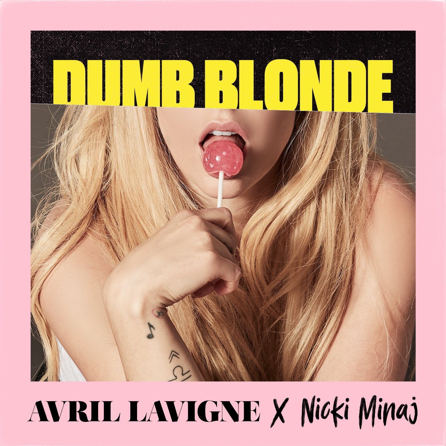 """I am a fucking cherry bomb"" #DumbBlonde ft. @NICKIMINAJ. Tomorrow �� https://t.co/6EHZbC7VeI"