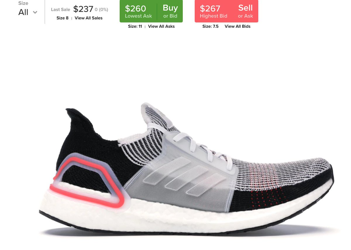 a2a569c151ec4 The  adidas Ultra Boost 2019 restocked with free shipping -   https   bit.ly 2GCl3Ws adpic.twitter.com wjK2n36j5t