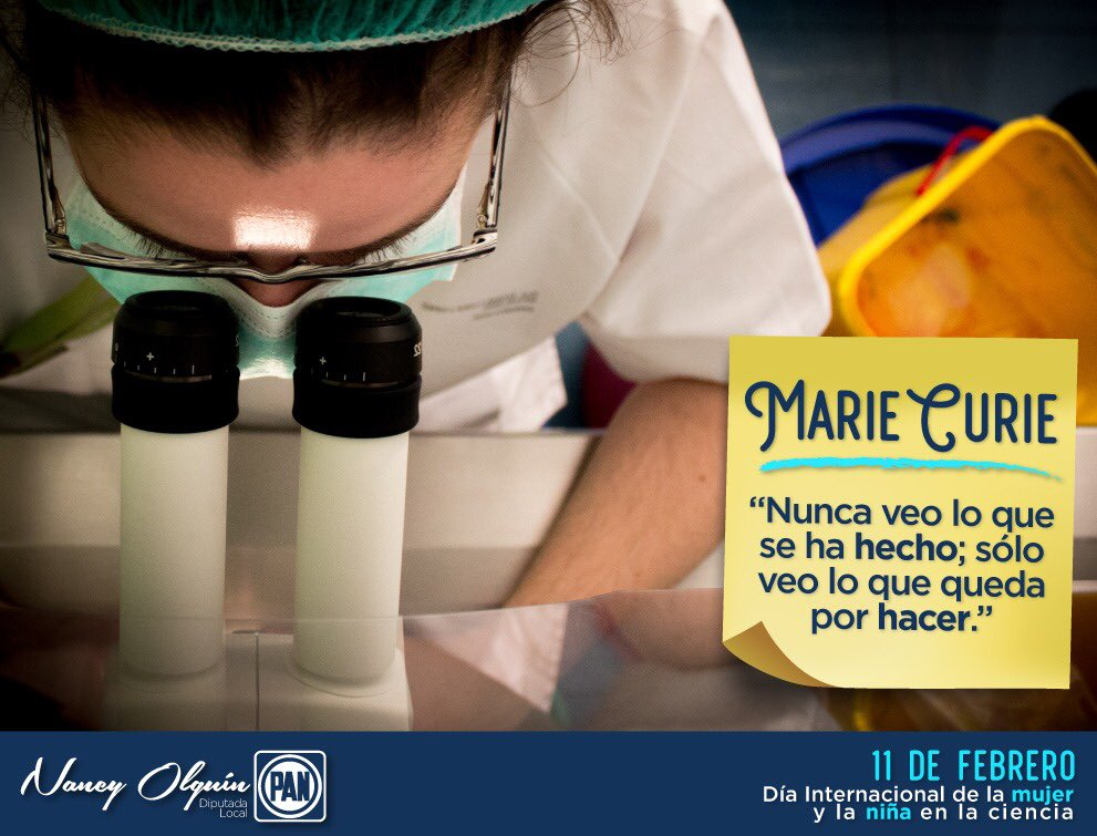 Nancy Olguin's photo on #mujeresenciencia