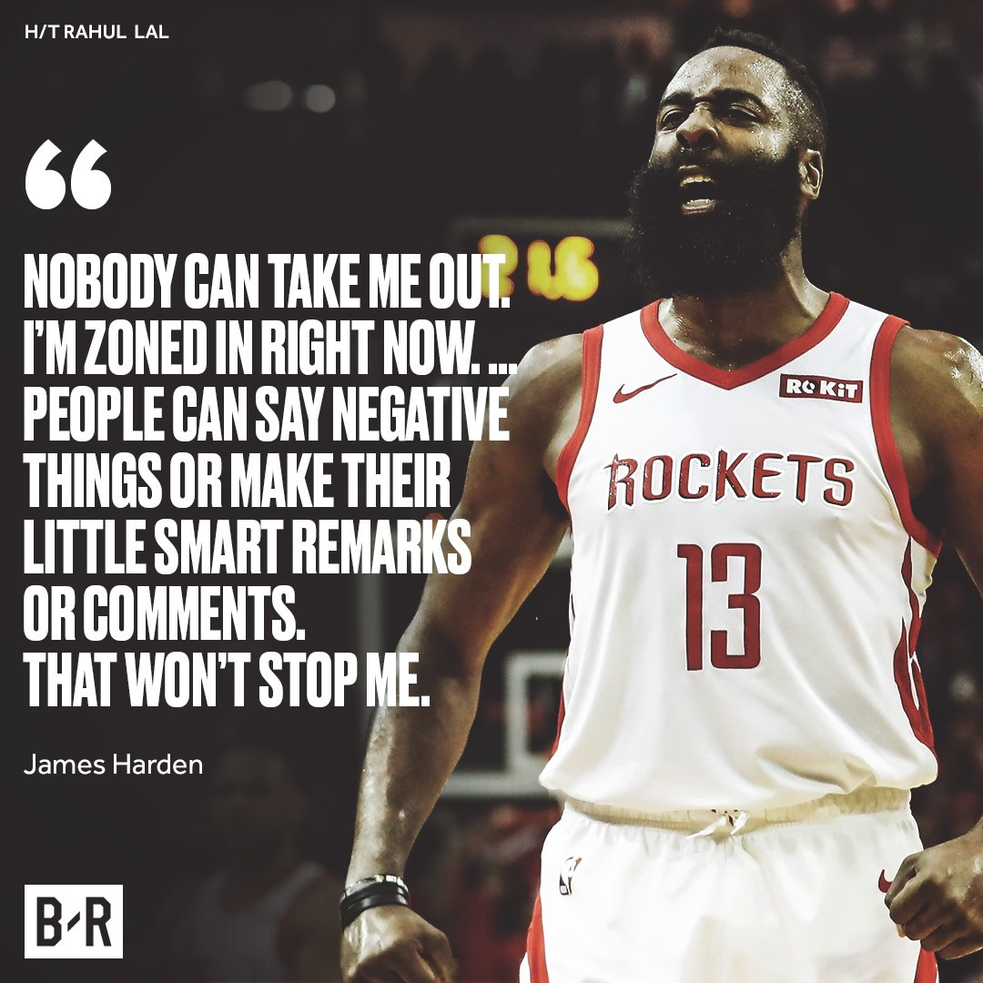 Harden is locked in 😤
