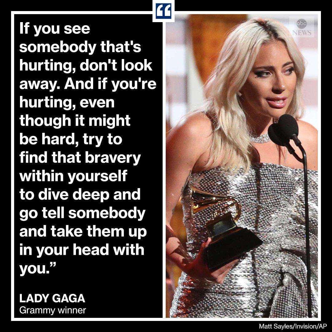 ABC News's photo on Lady Gaga