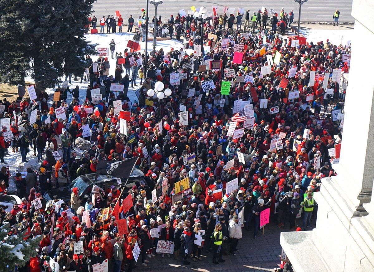 Scott Franz's photo on #DenverTeacherStrike