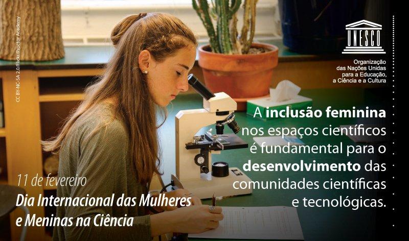 UNESCO no Brasil's photo on #MulheresNaCiencia