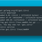 Image for the Tweet beginning: 🎉 Go 1.12 RC1 is