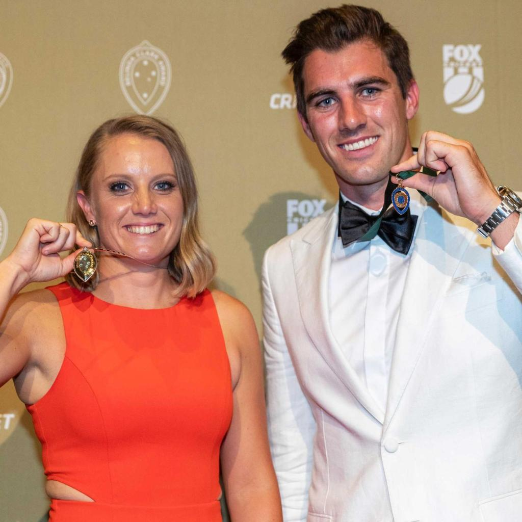 Melbourne Informer's photo on allan border medal