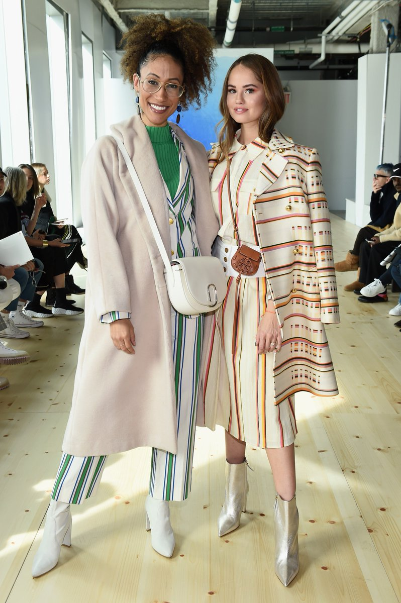 The scene at #ToryBurchFW19 Thank you @ElaineWelteroth @DebbyRyan