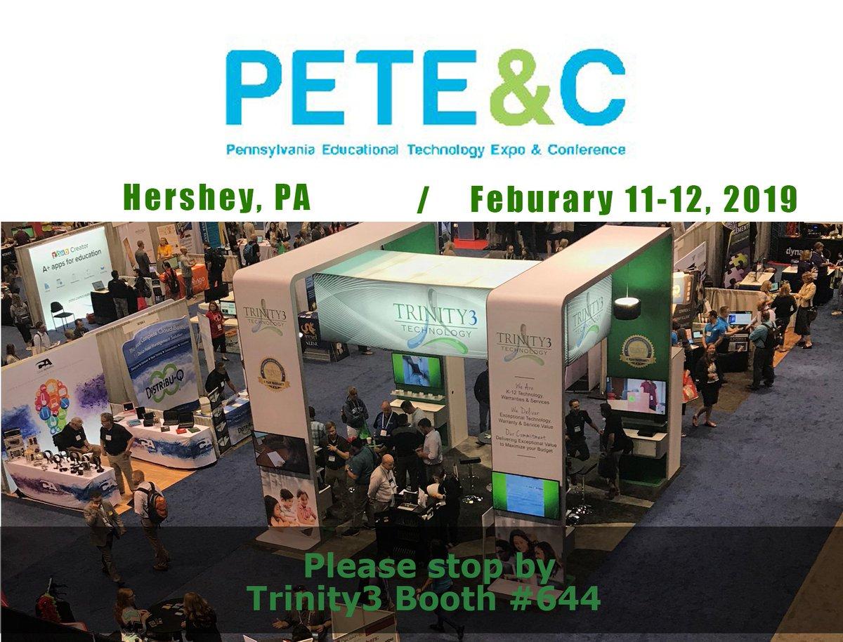 Trinity3 Technology's photo on #PETE2019
