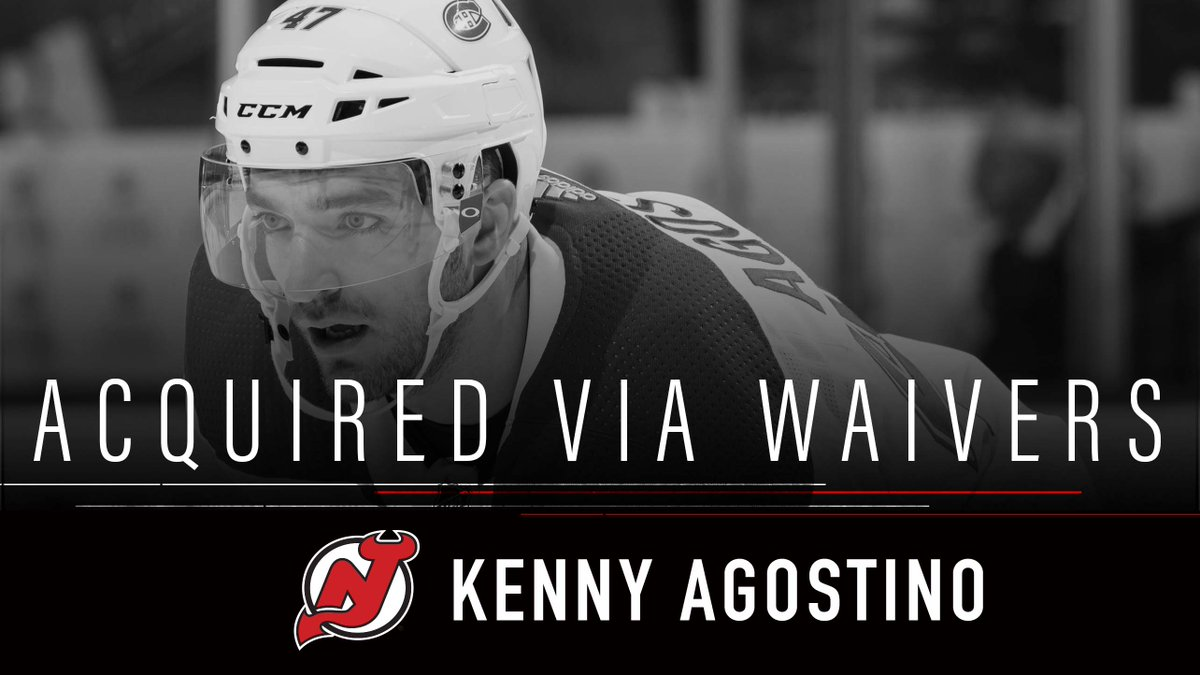 New Jersey Devils's photo on agostino