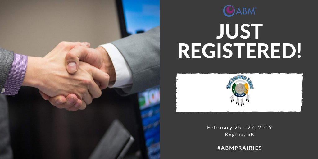 Based out of Saskatchewan, Big Island Lake Cree Nation have registered for #ABMPrairies with hopes of creating new connections and potential business partnerships in order to further develop their economic sector. Interested in meeting them? Register at: http://ow.ly/cBlq30nA6H6