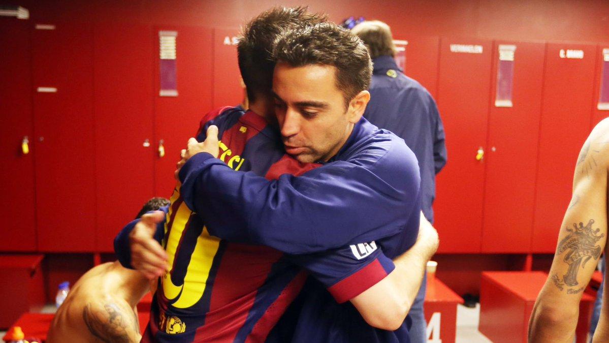 🔝 #BarçaBestGoalEver  🔥 Duelo de hoje: #Messi vs Xavi 🤝 📹 Vote 👉https://t.co/SdzrUnXLkN👈  🔵🔴 #ForçaBarça