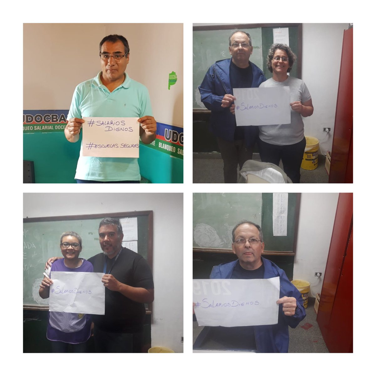 UDOCBA Central's photo on #SalariosDignos