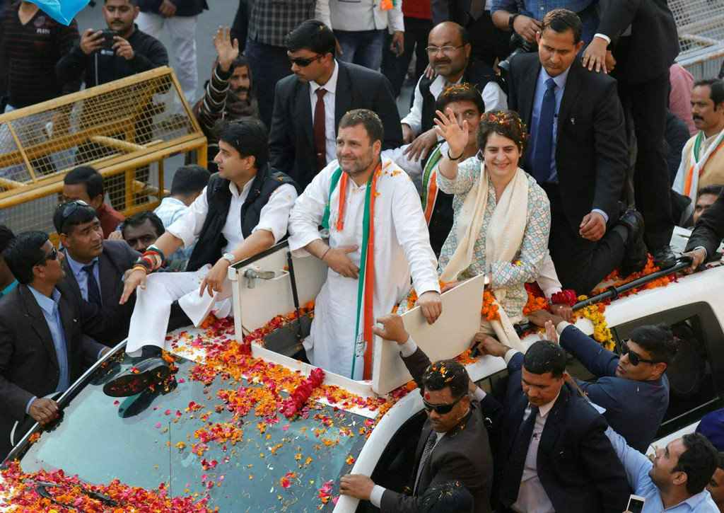 'It's like Indira has come back': Priyanka Gandhi Vadra makes political debut https://t.co/HDmkZisiSU