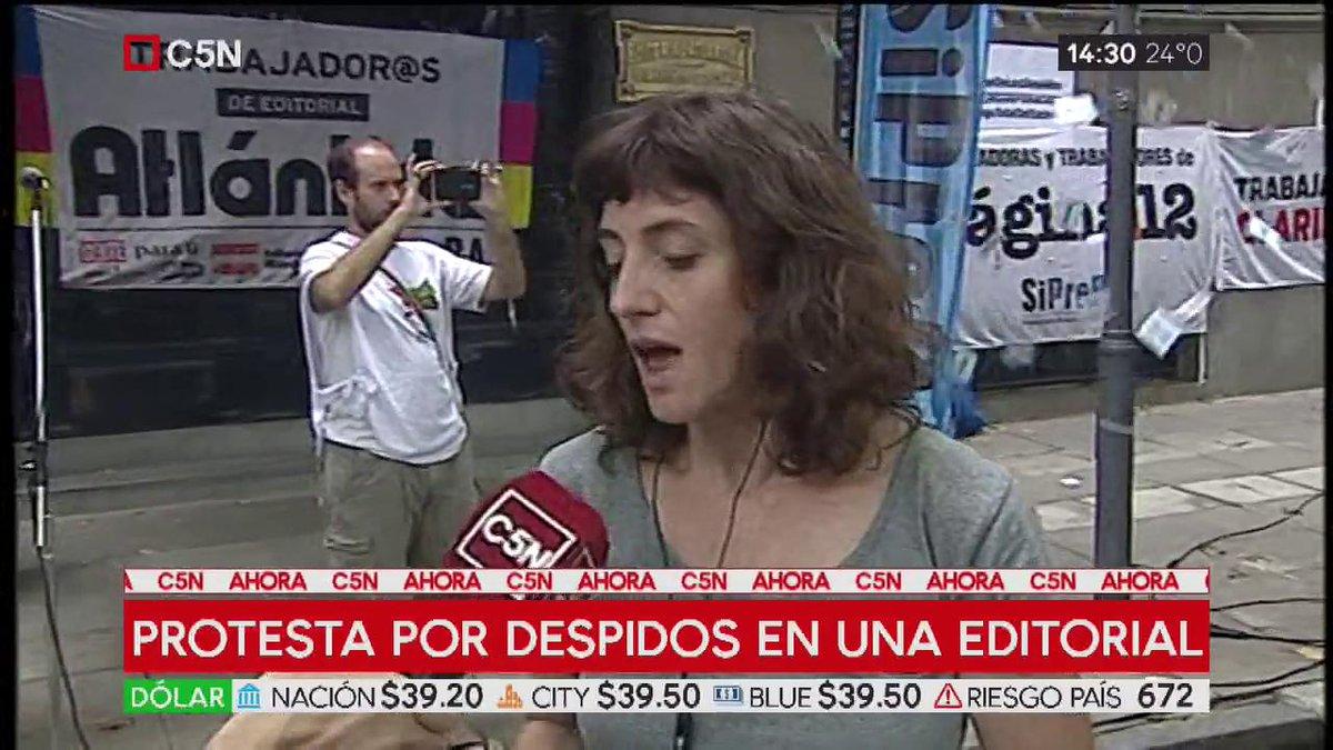 C5N - #MinutoAMinuto's photo on editorial atlántida