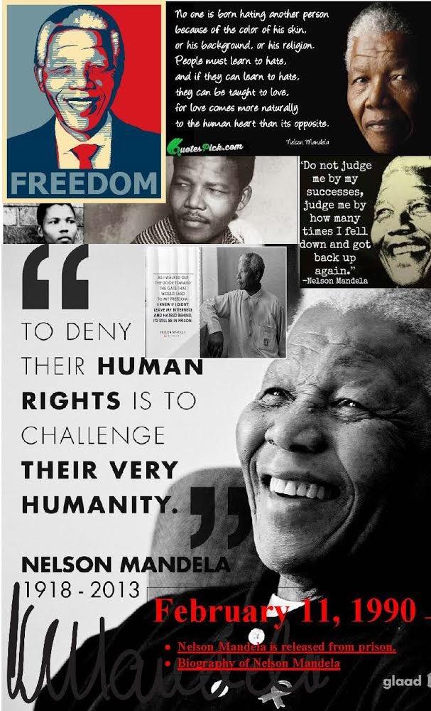 B-CULibrary's photo on Nelson Mandela