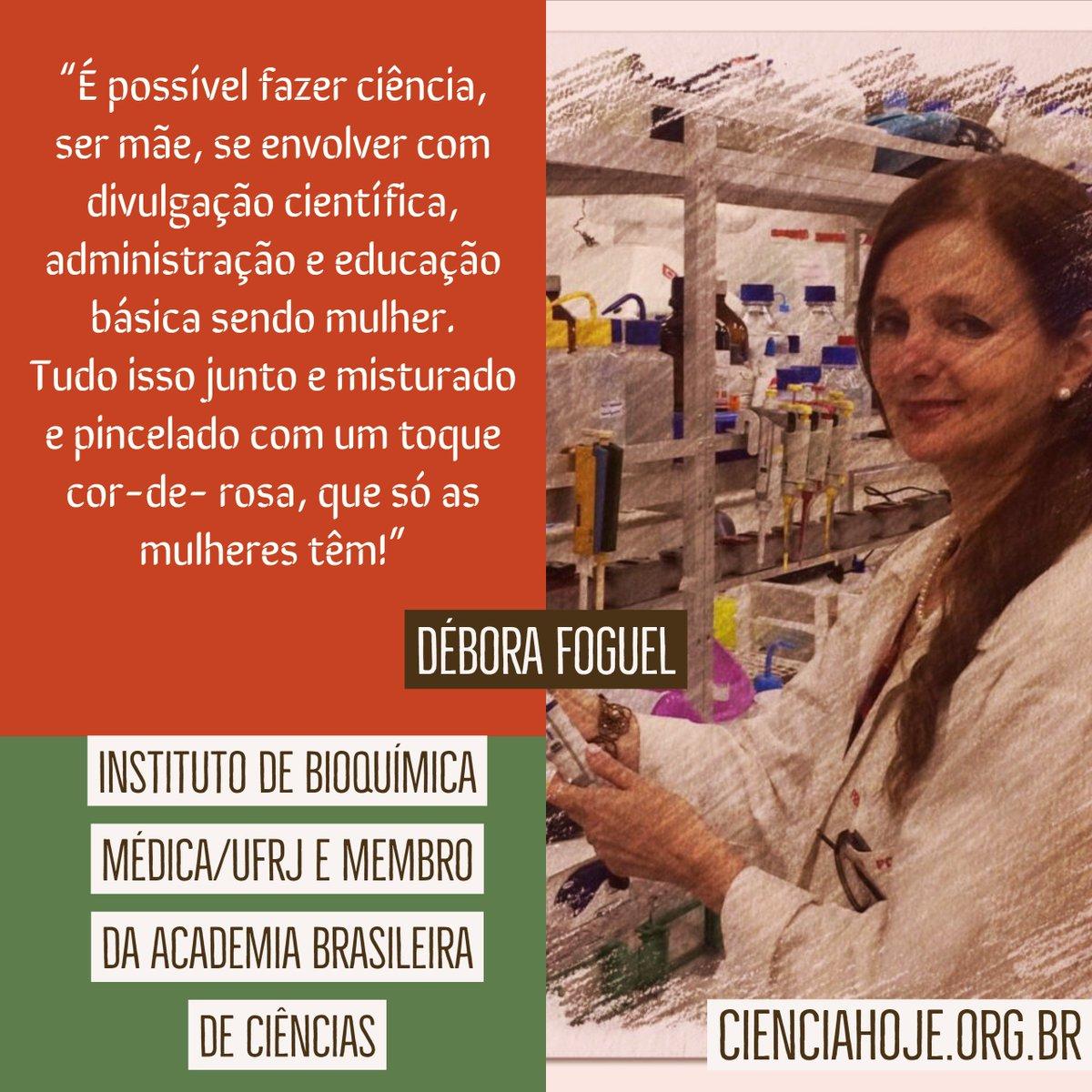 Ciência Hoje's photo on #MulheresNaCiência