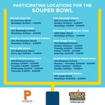 Join @Jorge_Elorza & the City of Providence in collecting food for @RIFoodBank by dropping off your non-perishable donation at any of these locations through February 17. Thank you!