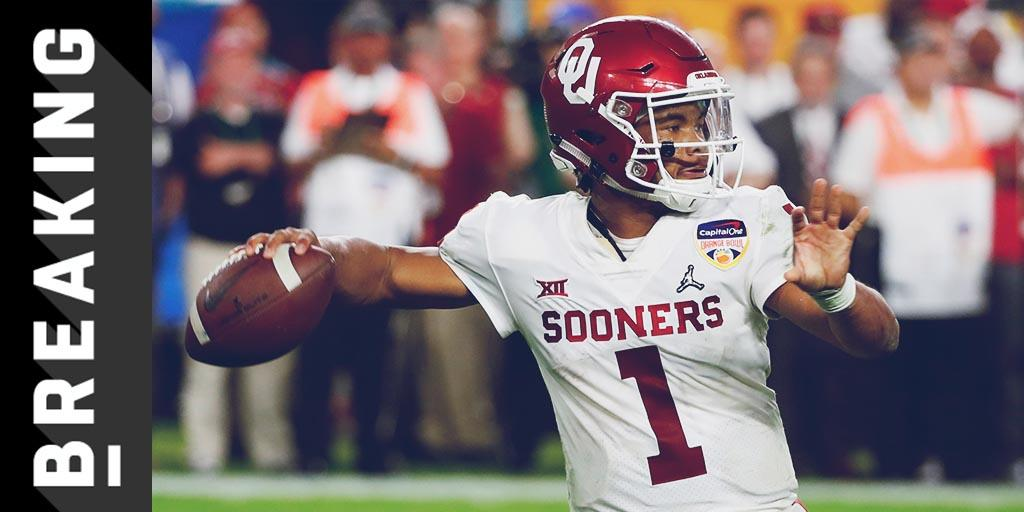 .@TheKylerMurray commits to pursuing NFL career: https://t.co/FXJ3AGwcB7 https://t.co/ZtssN87miQ