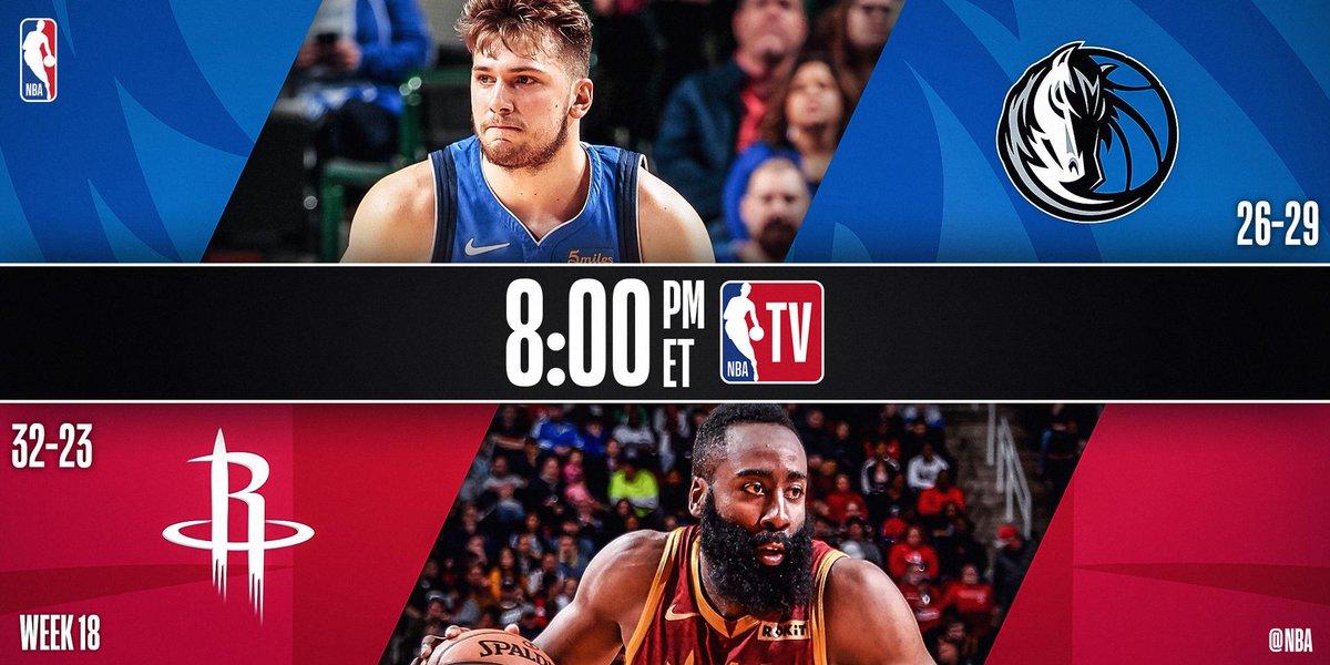 TONIGHT ON @NBATV!   8pm/et: #MFFL x #Rockets