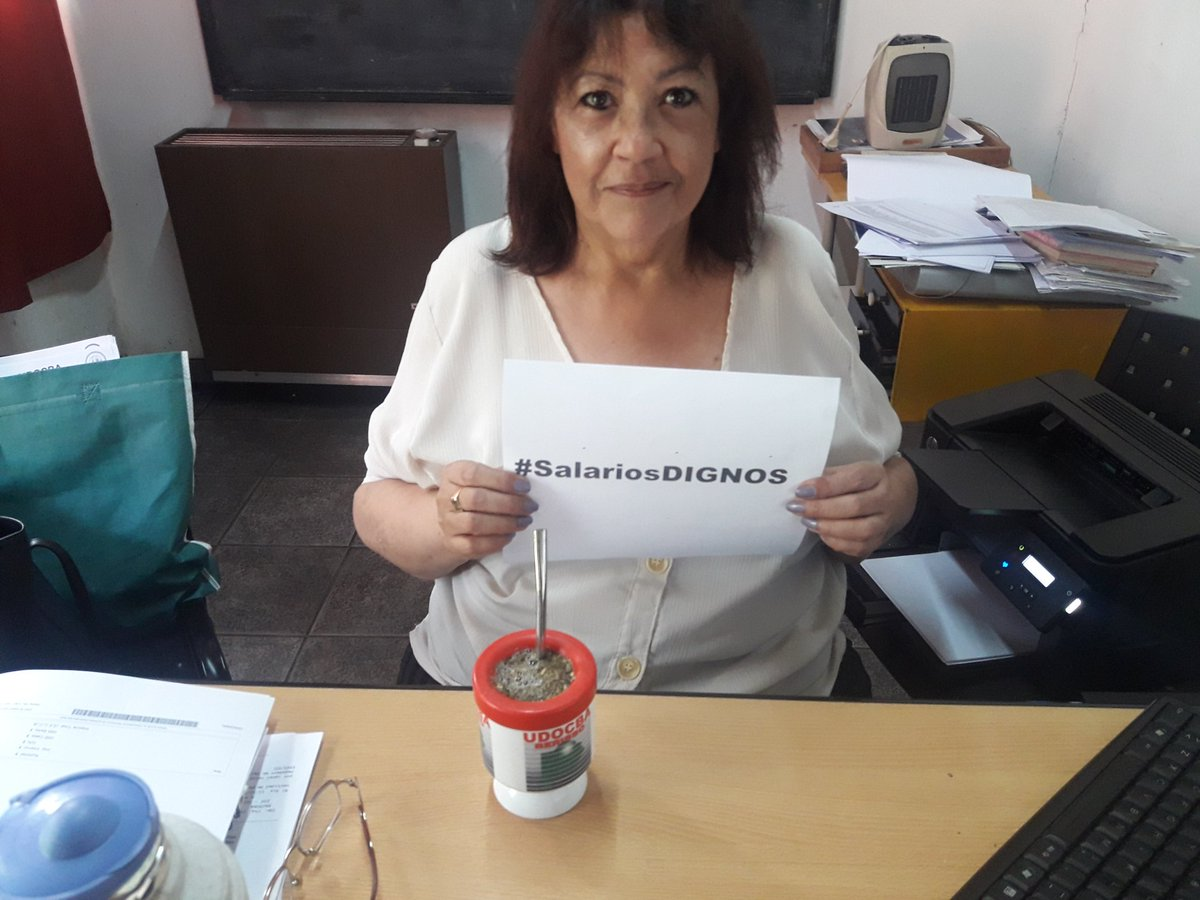 Udocba Berisso's photo on #SalariosDignos