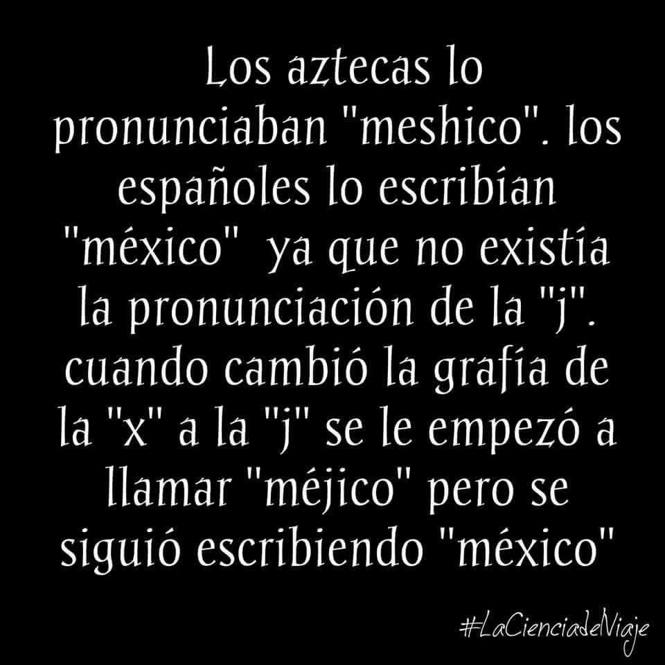 que significa la palabra mexico