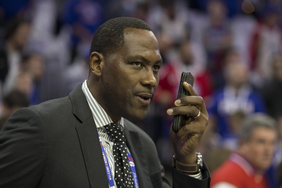 "Elton Brand on Ben Simmons asking permission to work with Magic Johnson in the offseason: ""I said no,"" per @975TheFanatic"